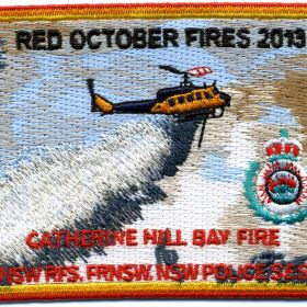 2013 - Catherine Hill Bay 'Red October 2013' patch