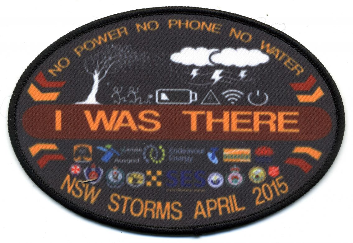 2015 - NSW Storms patch