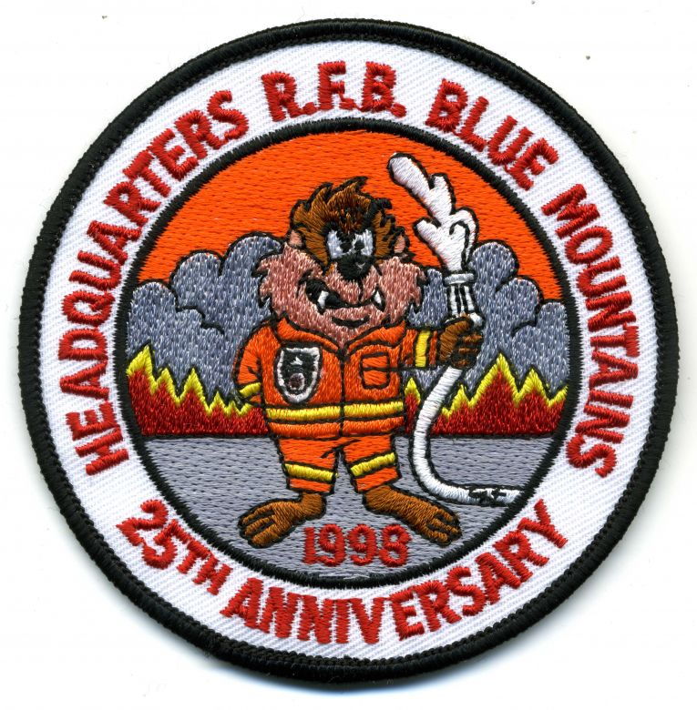 1998 - Blue Mountains HQ 25th Anniversary patch