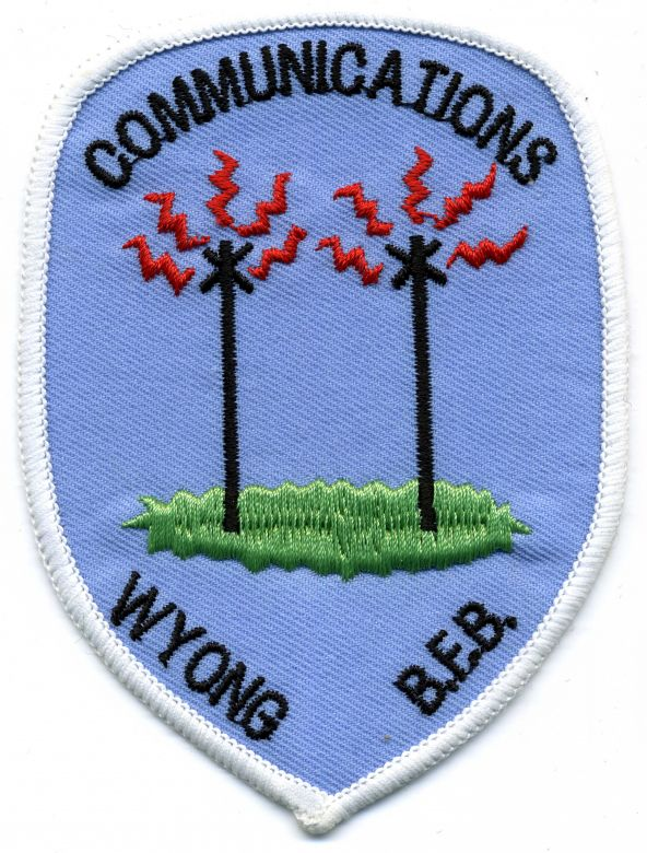1990 - Wyong Communications patch