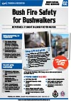 Picture of Bush Fire Safety for Bushwalkers Brochure
