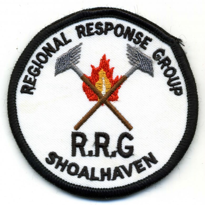 1992 - Regional Response Group - Shoalhaven patch