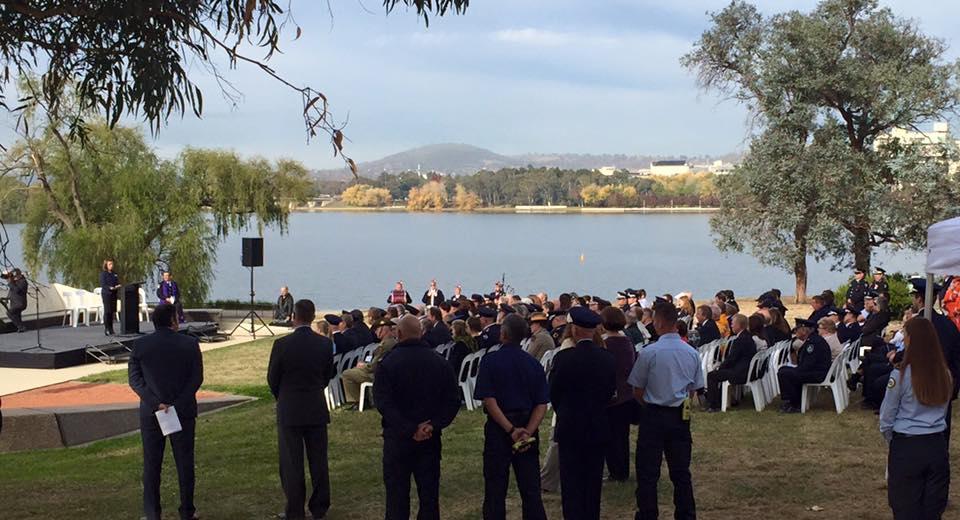 National Volunteer Memorial Canberra 2016