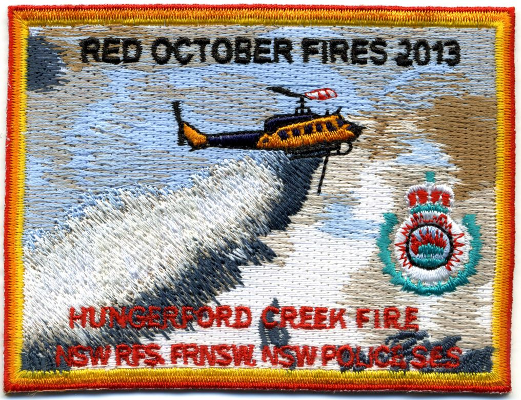 2013 - Hungerford Creek 'Red October 2013' patch