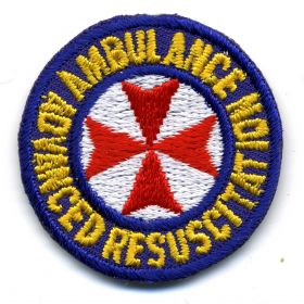 1992 - Ambulance Advanced Resuscitation patch