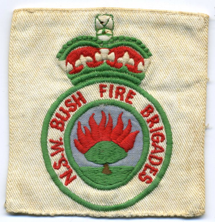 1970 - White NSW Bush Fire Brigades patch