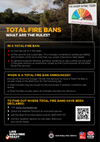 Total Fire Ban Factsheet