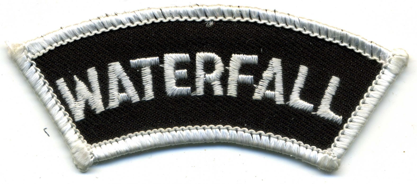 1973 - Waterfall patch