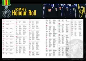 Bush Fire Bulletin Volume 35 No.1 (2013) - NSW RFS Honour Roll Liftout