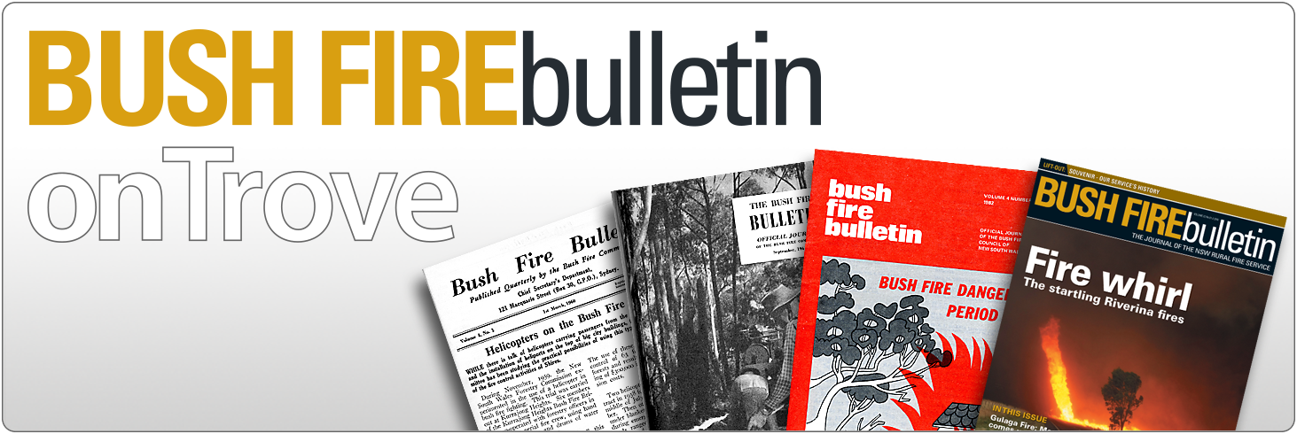 Bush Fire Bulletin on Trove