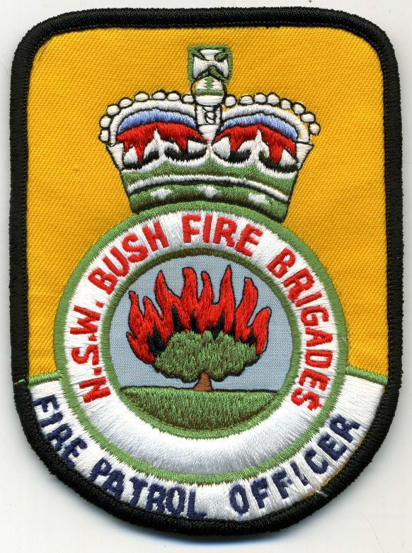 1990 - Fire Patrol Officer patch