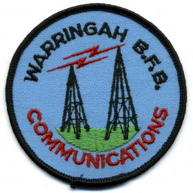 1990 - Warringah Communications patch
