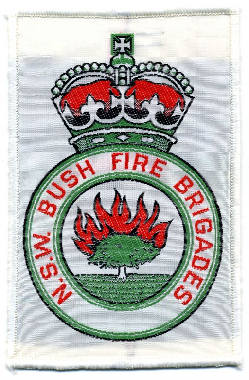 1973 - White NSW Bush Fire Brigades patch
