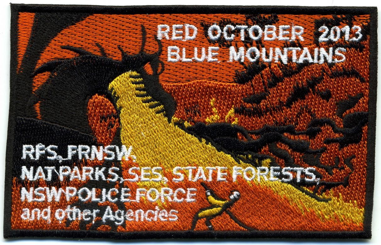 2013 - Blue Mountains 'Red October 2013' patch