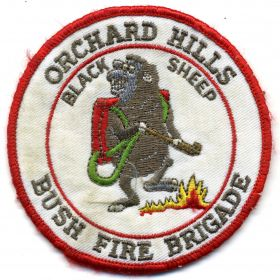 1990 - Orchard Hills patch