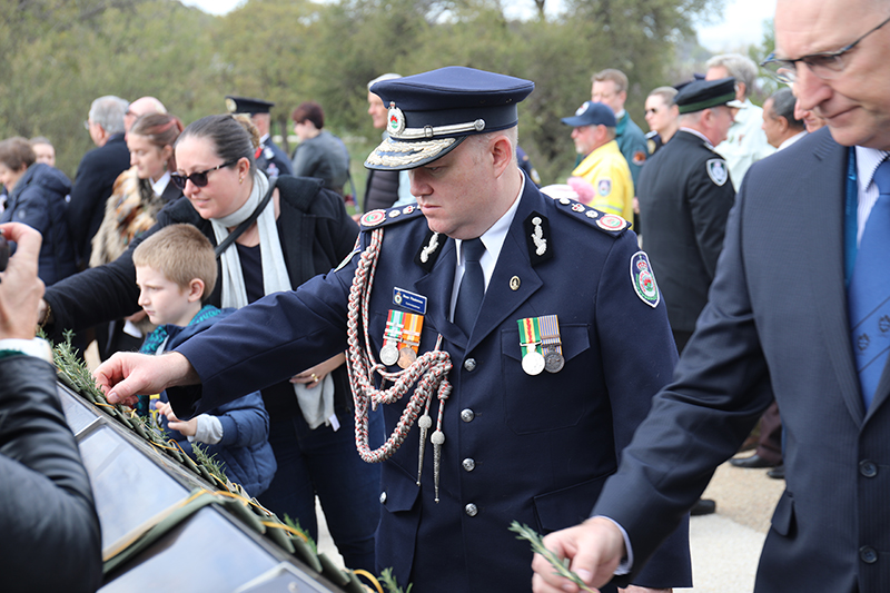 National Memorial Service Canberra 2019