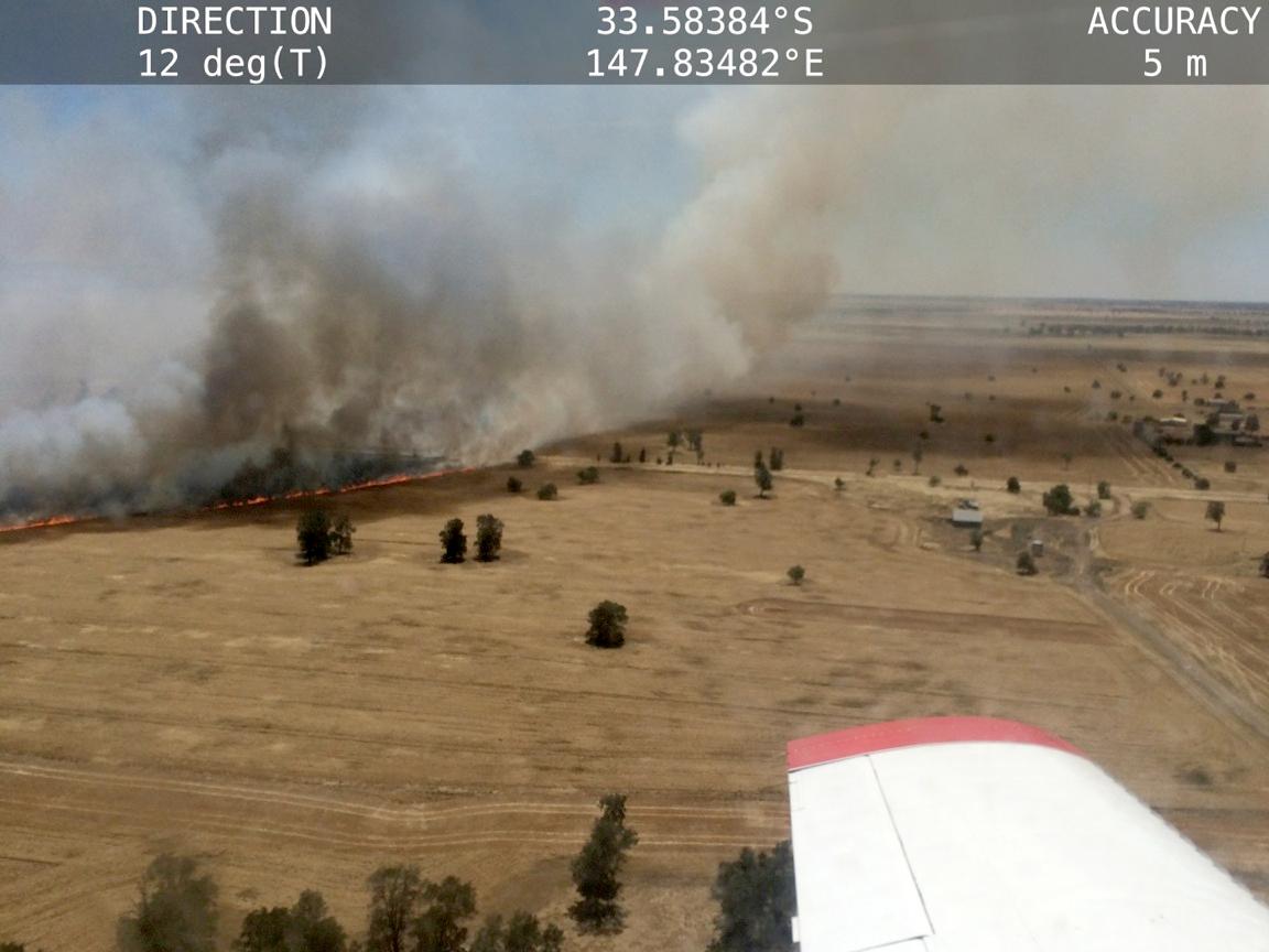 RFS: Increased Fire Danger Across NSW Forecast For Friday