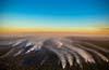Smoke trails over Pilliga 2015.