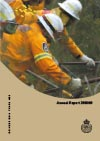 Cover of NSW RFS 2008-2009 Annual Report
