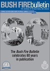 Cover of The Bush Fire Bulletin celebrates 60 years in publication