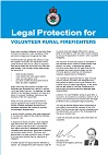 Legal Protection for Volunteer Rural Firefighters