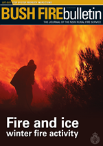 Cover Bush Fire Bulletin 2015 Vol 37 No 3