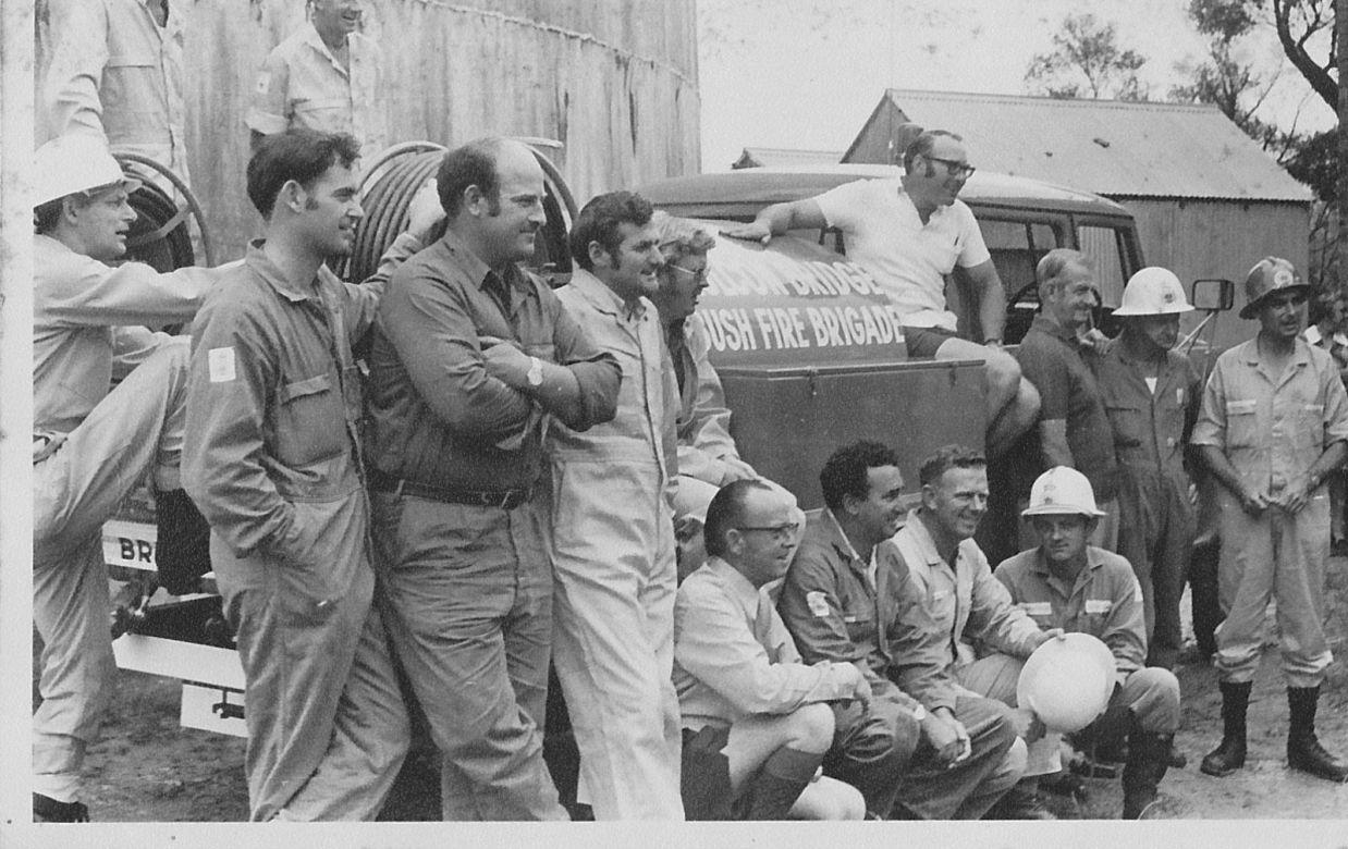 Faulconbridge Crew on International Tanker, 1972