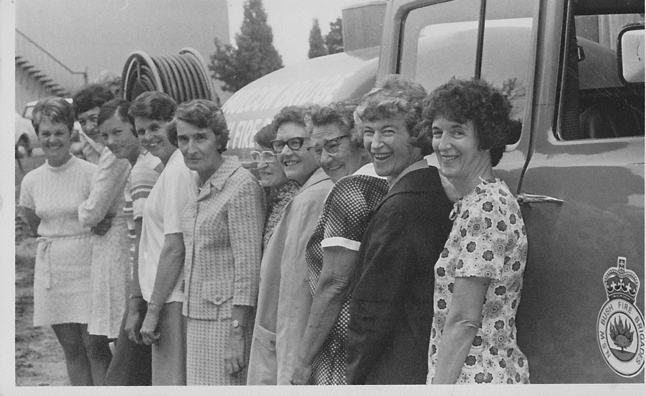 Faulconbridge Ladies Crew, 1972