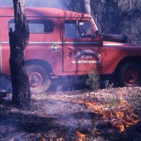 Warrumbungles hazard reduction, 1975