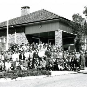 Bush Fire School, 1976