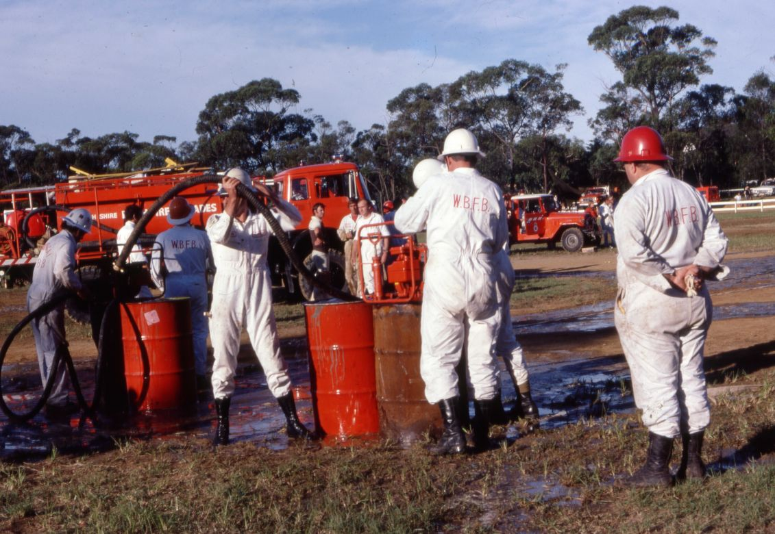 Operational Personal Protective Equipment White Overalls, 1978