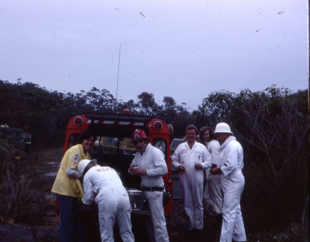 Operational Personal Protective Equipment with Catering Yellow Smock, 1979
