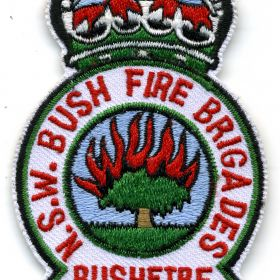 1970 - Bushfire Service patch