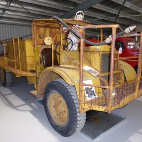 1942 Ford Canada Blitz, 1953 purchased by Quandary Pucawan BFB Temora, 2014 NSW RFS Temora CEC