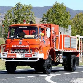 1980 Bedfor MFR Perkins Diesel Engadine BFB Sutherland, 1990 Baldry BFB Orange, 2012 NSW RFS Heritage