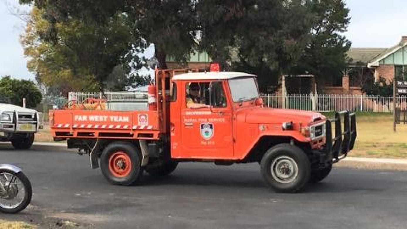 1982 Toyota Diesel, Mount Wilson Blue Mountains, 2005 Silverton BFB, 2015 NSW RFS Heritage