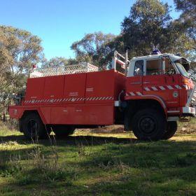 1984 Isuzu JCS Deepwater BFB Inverell 2013 North West Zone, 2013 NSW RFS Heritage