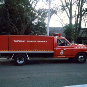 1989 Warringah Flyer Ford F350