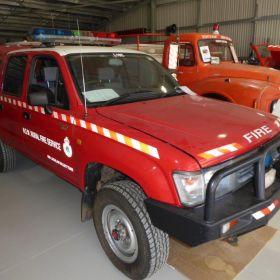 1998 Toyota Hilux Cumberland Zone, 2001 Condobolin Group Captains Vehicle, 2017 NSW RFS Temora CEC