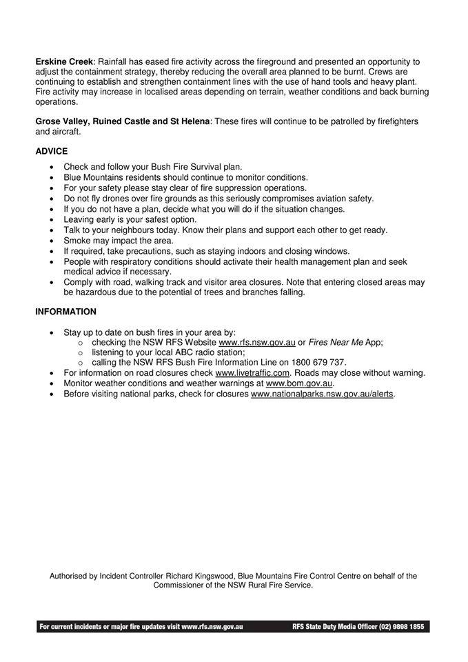 Blue Mountains Community Newsletter 9 January 2020b