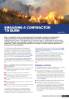 Picture of Engaging a Contractor to Burn