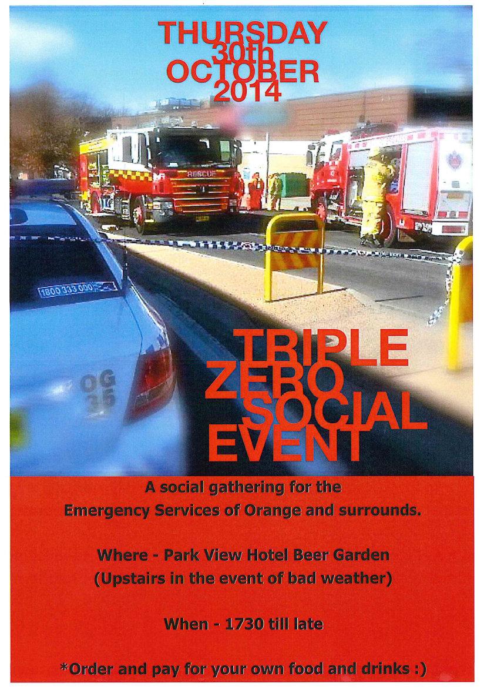 Triple Zero Social Event