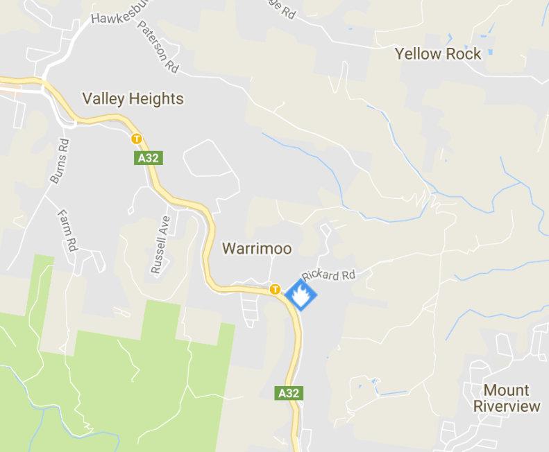 Railway Pde, Warrimoo Fire 2
