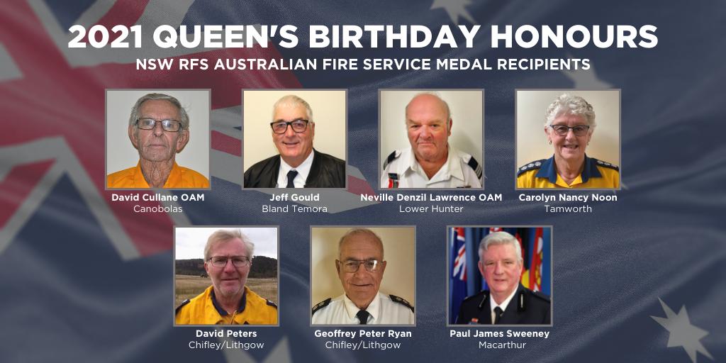 Queen's Birthday Honours List
