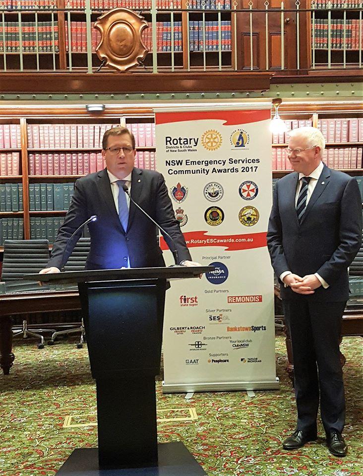 Rotary NSW Emergency Services Community Awards 1