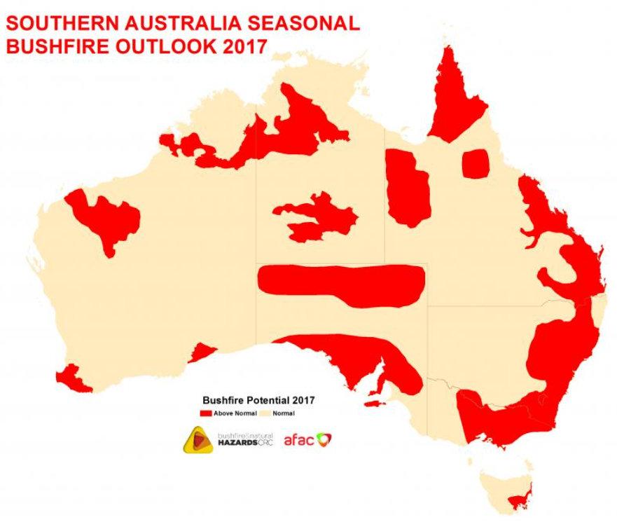 outhern Australia Seasonal Bushfire Outlook 2017
