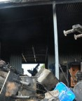 Two weekend fires leave personal items and house damaged