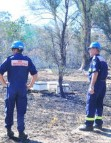 Burning issues resolved Rural Fire Service passes cause of fires on to police