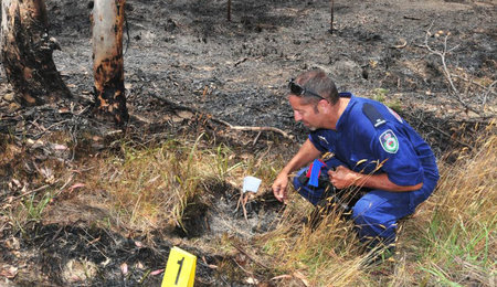 Ophir Road fire 'suspicious
