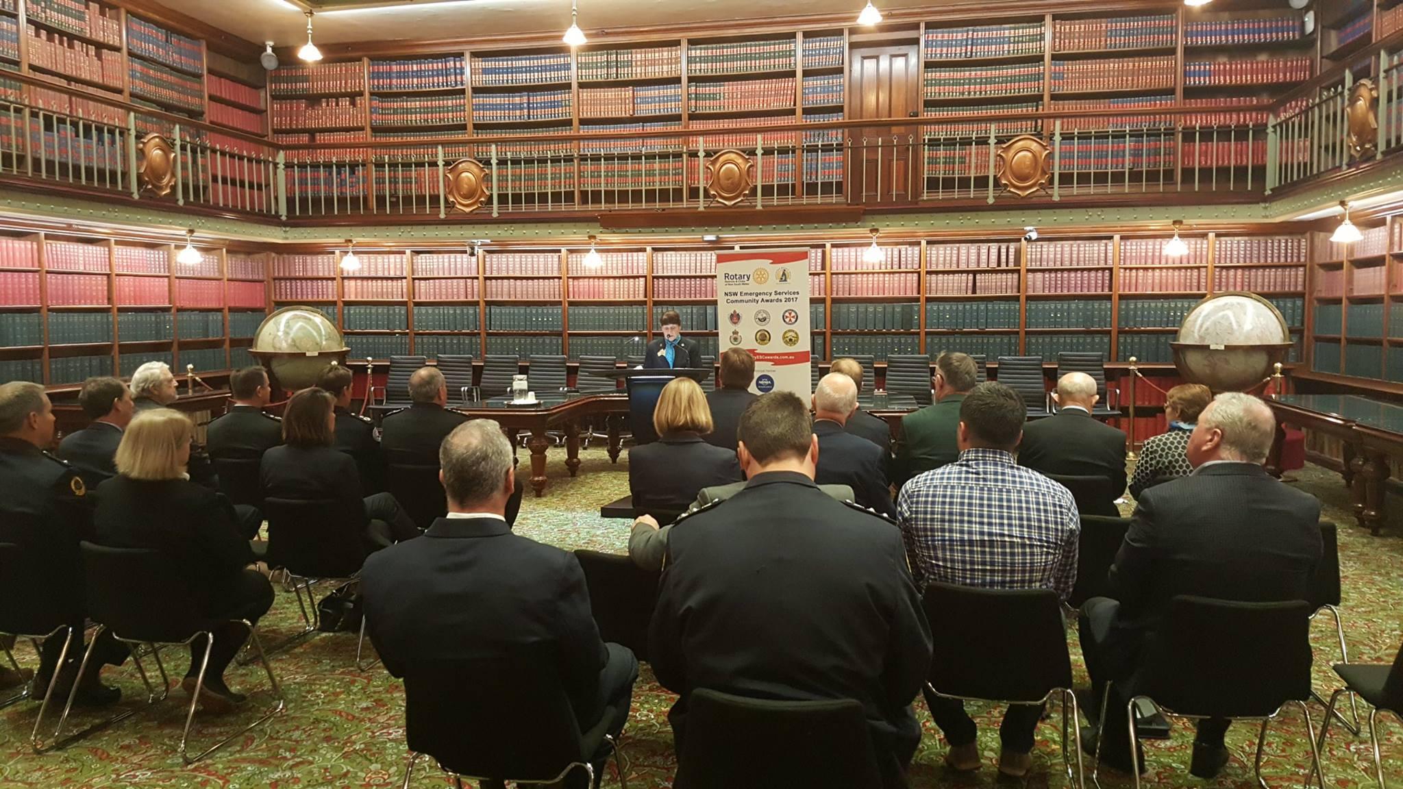 Rotary NSW Emergency Services Community Awards 2